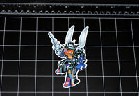 Transformers G1 Kickback box art vinyl decal sticker Decepticon Insecticon 80s