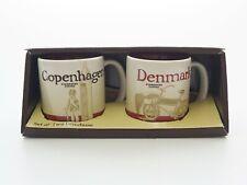 More details for starbucks global icon collector series set two demitasse denmark copenhagen cups