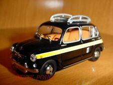 SEAT 800 FIAT 1:43 MADRID TAXI CAB 1963