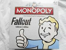 Fallout EDIZIONE PER COLLEZIONISTI Monopoly Board Game NUOVO in Magazzino
