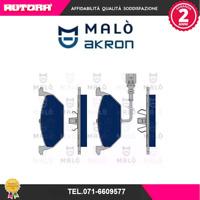 1050103 Kit pastiglie freno a disco ant Audi-Seat-Skoda-Vw (MARCA-MALO')