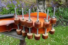 Luthier Violin or Uke repair spool clamps ,set of 6 ,,60mm depth clamp