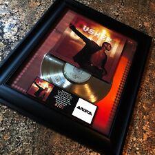 USHER 8701 Platinum Record Music Award Album Disc