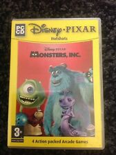 DISNEY PIXAR MONSTERS INC PC CD-ROM ACTION GAME. NEW & UNSEALED