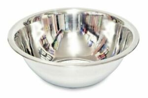 Deep Mixing Bowl Cooking Baking Stainless Steel Bowl Flat Base Different Sizes