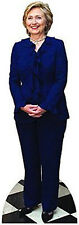 Hillary Clinton Cardboard cutout life size stand up: BLUE  2016 for President