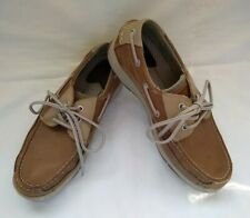 DOCKERS LEATHER BOAT SHOES, SIZE 9M