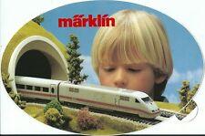 Sticker Märklin chemin de fer train  RARE