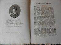1814 ACQUAFORTE PETRONIO ARBITRO ILLUSTRE POETA E ROMANZIERE DI NAPOLI