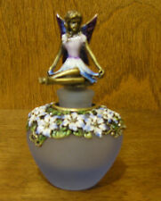 Enameled Perfume Bottle #PB527 BLUE FAIRY mint/box NEW from our Retail Store