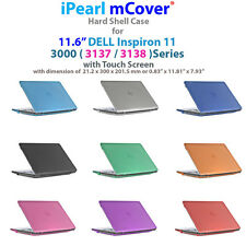 "NEW iPearl mCover® Hard Case for 11.6"" Dell Inspiron 11 3137 3138 series laptop"