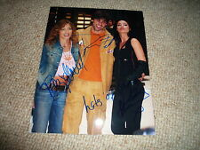 DREW FULLER , ALISON KING & T. WENZEL signed autograph In Person 8x10 ARMY WIVES