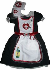 Costume INFIRMIERE  avec petit sac et tablier - 3/4 ans - NEUVE