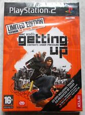 Marc Ecko's Getting Up Contents Under Pressure LIMITED EDITION PS2 PAL SEALED