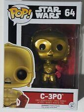 Funko POP C-3PO #64 Star Wars Episode VII Force Awakens Vinyl Bobblehead Figure