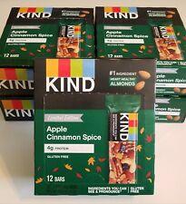 60 Bars ~ KIND Limited Edition Apple Cinnamon Spice 4g Protein Bar ~08/2020+
