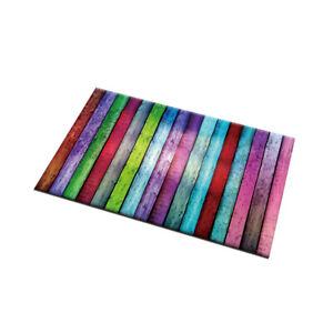 Vintage Colored Farmhouse Planks Kitchen Area Rugs Non-Slip Mat Doormat Carpet