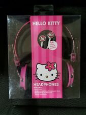Hello Kitty 31309 Headphone and Earbuds Matching Combo, Pink