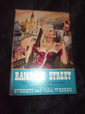 RAMPART STREET Everett & Olga Webber HC/DJ Book Vintage 1948