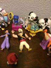 22 McDonald's Disney Happy meal toys- Aladdin,101 Dalmatians,Hunchback, Smurfs