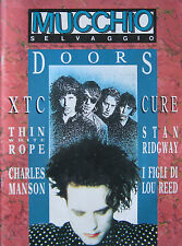 MUCCHIO 137 1989 Cure Doors XTC Thin White Rope Charles Manson Dream Syndicate