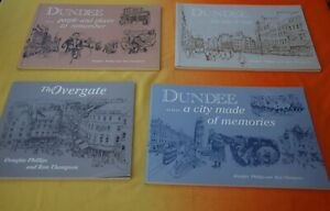 Various History of Old Dundee Books by Doug Phillips & Ron Thompson