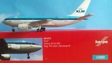 "Herpa Wings 1:500 531573  KLM  A310-200 PH-AGA ""Rembrandt"""