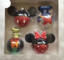 Disney Christmas Ornament Set-Mickey Mouse and Pals Set NEW IN BOX
