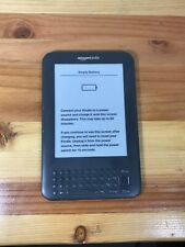 Kindle 3.01 Model D00901, Kindle Keyboard Free 3G
