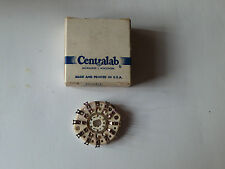 Centralab PA-0 1 Pol 12 Pos Shorting Steatite