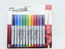 Sharpie Precision Ultra Fine 12cp Set Assorted Colors 1988952 New Sealed Package