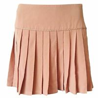 Gianni Versace Couture authentic vintage designer wool pleated skirt sz. 40IT