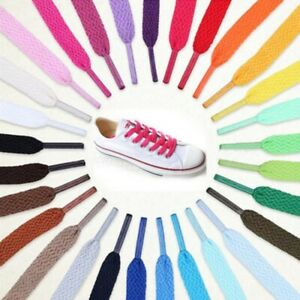"New Name Brand Flat Shoe Laces - Converse/Nike & Vans: Multiples Sizes 28"" - 54"""