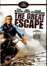 USED SLIM CASE - THE GREAT ESCAPE - Steve McQueen, James Garner, Richard Attenbo