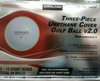 Kirkland Signature Three-Piece Urethane Cover Golf Ball v2.0 ( 24 Balls )