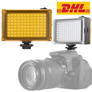 96LED Videolicht LED Farbtemperatur Kamera Licht fotolampe Studio Licht Lampe DE