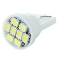 2x T10 501 168 194 W5W 8 LED SMD White Car Wedge Side Light Lamp Bulbs 12V BT