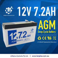 New 12v 7.2ah 7ah UPS SLA AGM Sealed Lead Acid Battery WP7-12 LP12-6.5 BP7-12