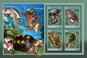 Grenada- Turtles Stamp- Sheet of 4 MNH