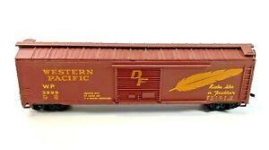 HO Vintage Western Pacific 3999 50'  Boxcar