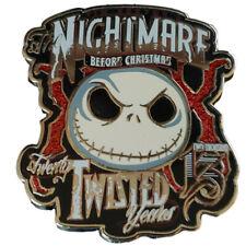 2013 Expo JACK NIGHTMARE Before XMAS 20 TWISTED YEARS Anniversary PIN DISNEY
