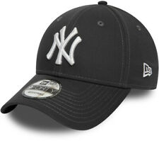 NY Yankees New Era 9Forty League Essential Graphite Baseball Cap