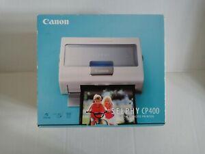 New Open Box Canon Selphy CP400 Compact Photo Printer