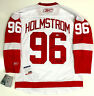 TOMAS HOLMSTROM DETROIT RED WINGS SIGNED REEBOK PREMIER JERSEY PSA/DNA COA