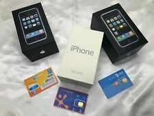 RARE Collectors Set. Apple iPhone 1st Generation 2G 4gb 8gb 16gb Never Activated