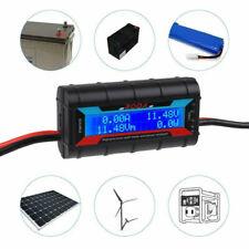 200A Digital LCD Volt Amp Watt Meter RC Battery Solar Power Analyser Monitor