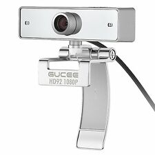 2MP Webcam 1080P GUCEE HD92 Beats Logitech C930e Full HD Web Camera Wide Angle