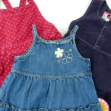 Toddler Girl Sleeveless Dresses 5T Gymboree Blue Pink Purple Lot of 3