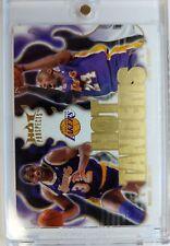 Rare: 2008-09 Fleer Hot Prospects Hot Tandems Kobe Bryant Magic Johnson #HT-9