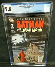 Batman: The Mad Monk #1 (2006) Detective 31 Cover Swipe CGC 9.8 U670